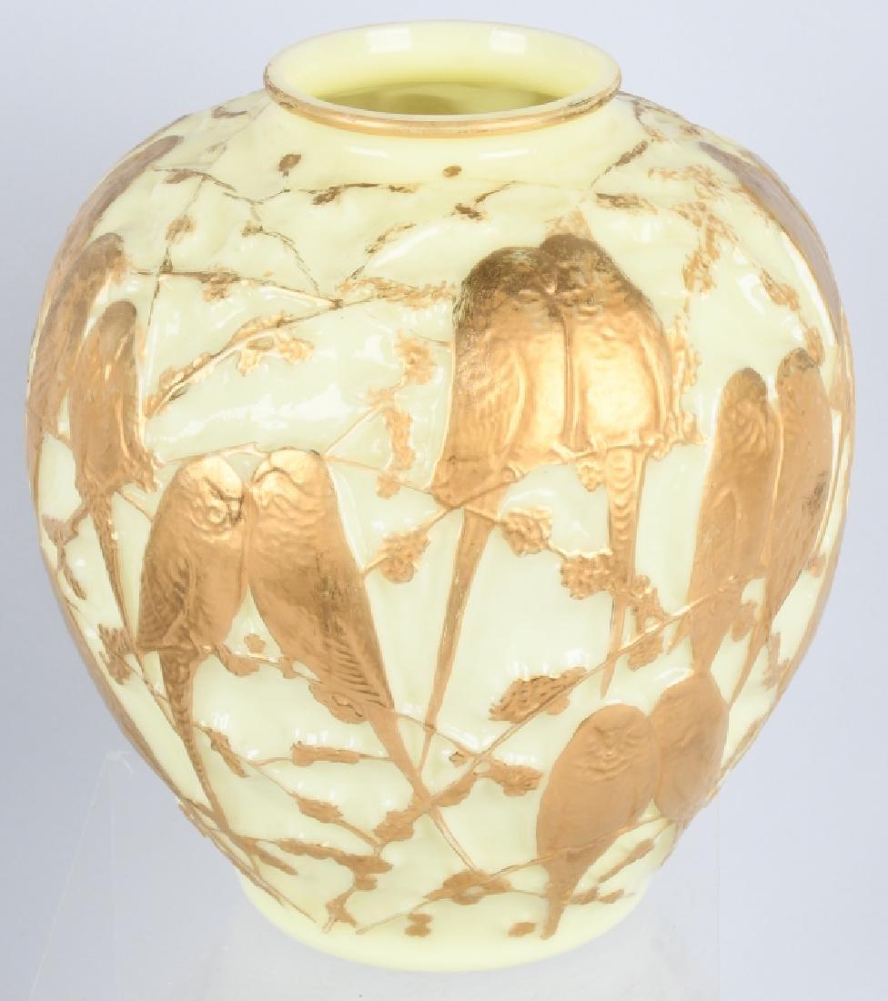 CONSOLIDATED MARTELE LOVE BIRDS VASE - 2