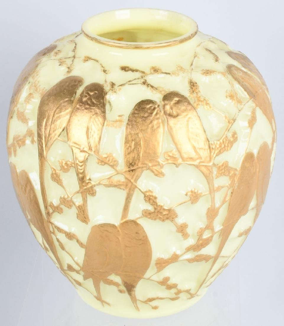CONSOLIDATED MARTELE LOVE BIRDS VASE - 4