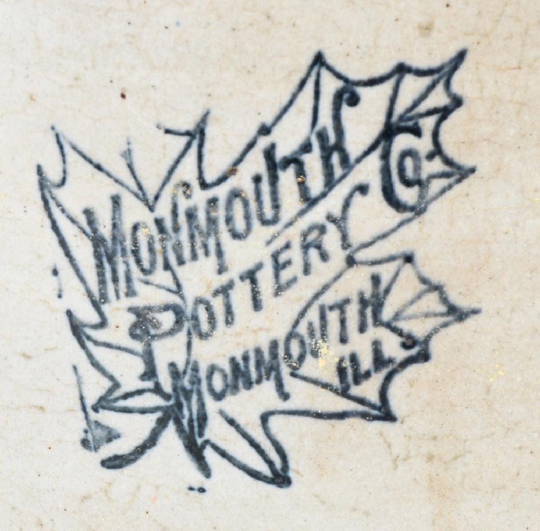 MONMOUTH POTTERY 6 GALLON STONEWARE CROCK - 2