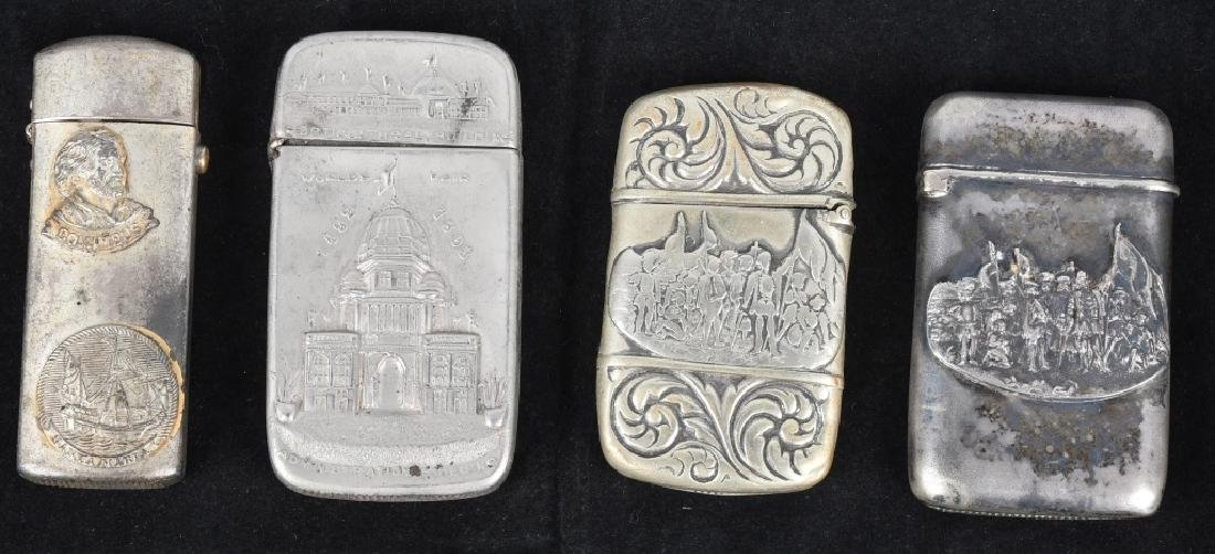 4-1893 COLUMBIAN EXPOSITION MATCH SAFES
