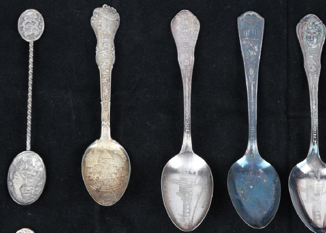 14- WORLD'S FAIR & EXPO SPOONS and MORE - 2