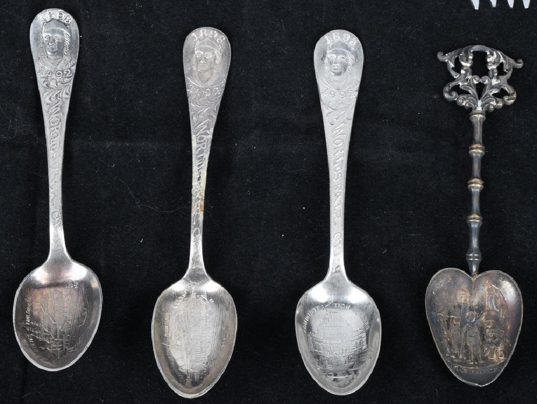 14- WORLD'S FAIR & EXPO SPOONS and MORE - 4