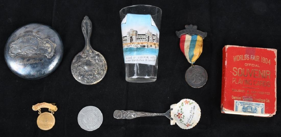 1904 ST. LOUIS WORLD'S FAIR SOUVENIR LOT