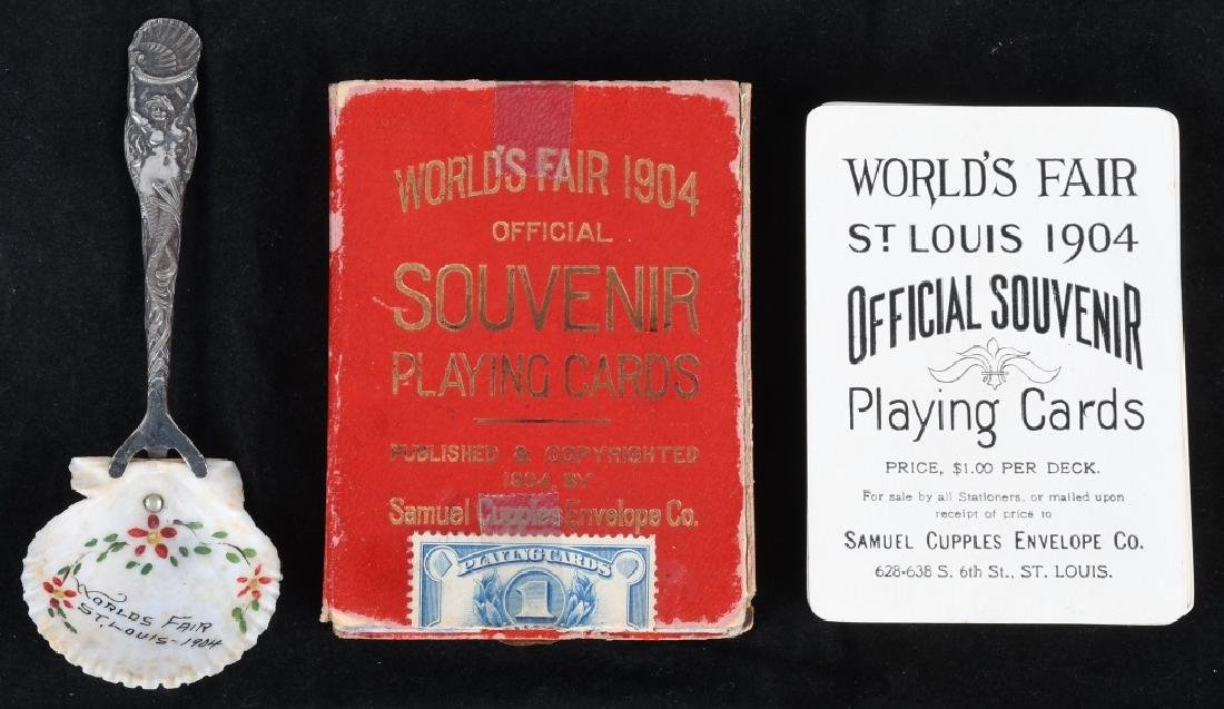 1904 ST. LOUIS WORLD'S FAIR SOUVENIR LOT - 2