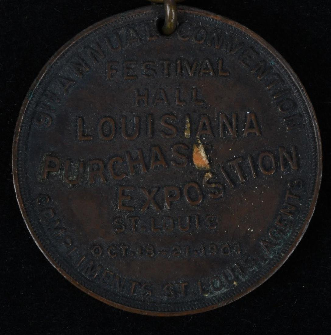 1904 ST. LOUIS WORLD'S FAIR SOUVENIR LOT - 8