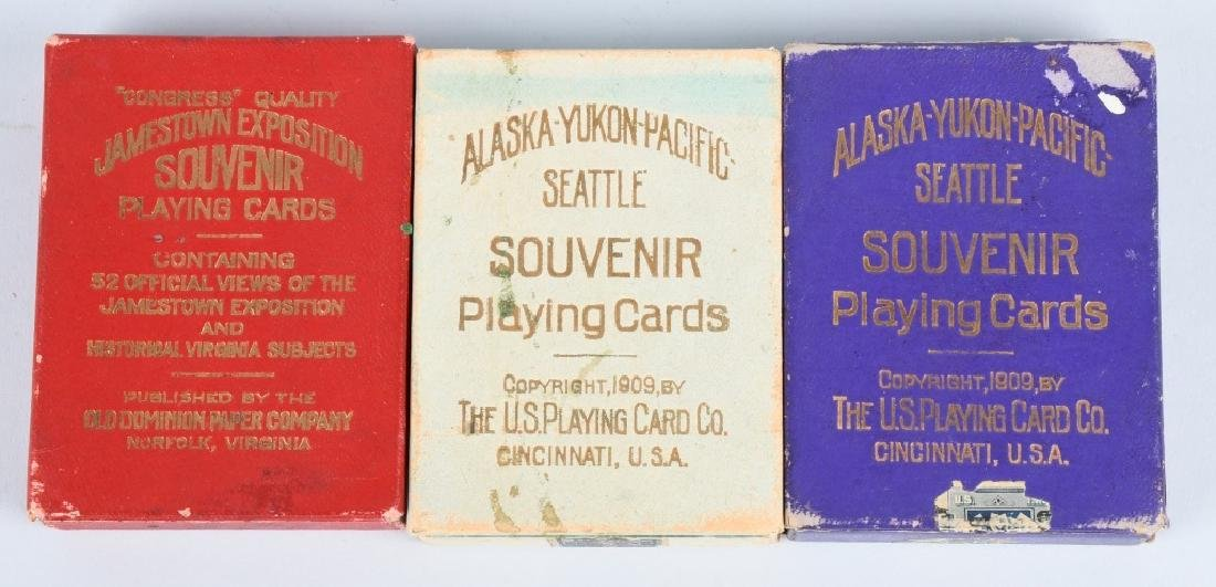 9 - WORLDS FAIR & EXPOSITION PLAYING CARDS - 3