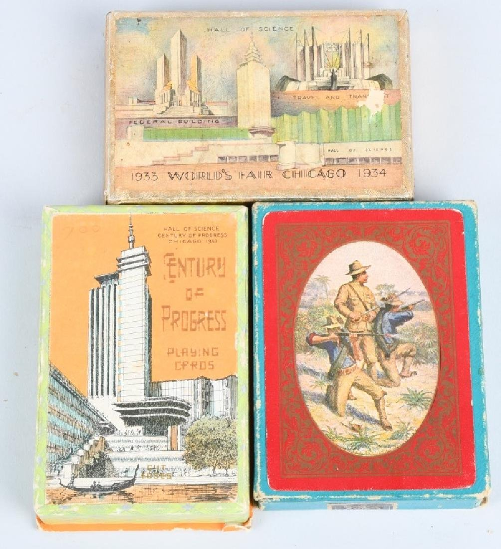 9 - WORLDS FAIR & EXPOSITION PLAYING CARDS - 4