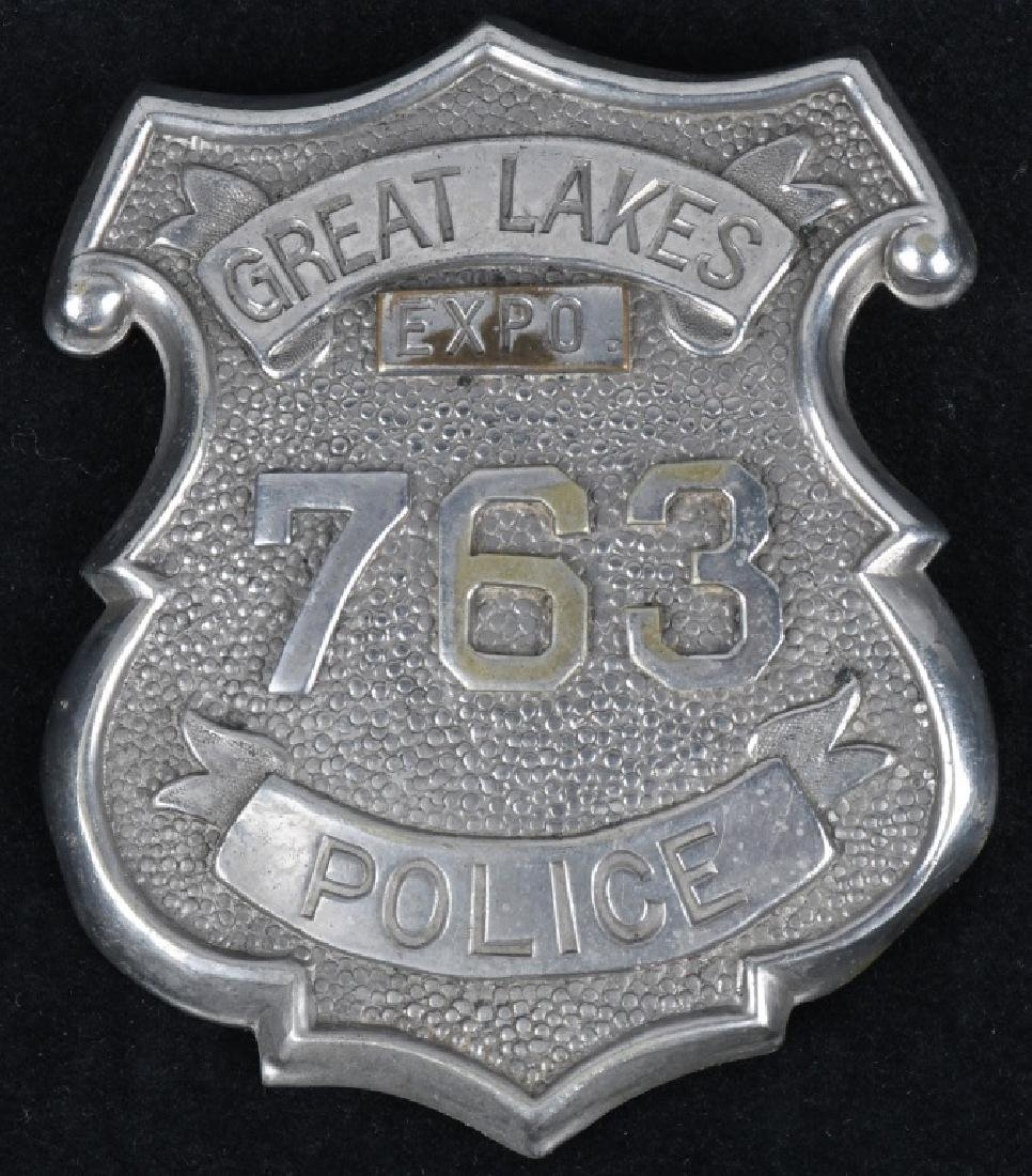 1936 CLEVELAND EXPO POLICEMAN'S BADGE