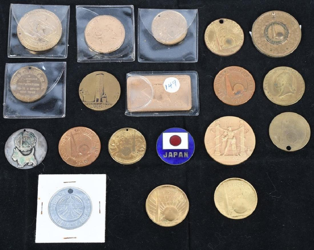 WORLD'S FAIR SOUVENIR COINS and MORE