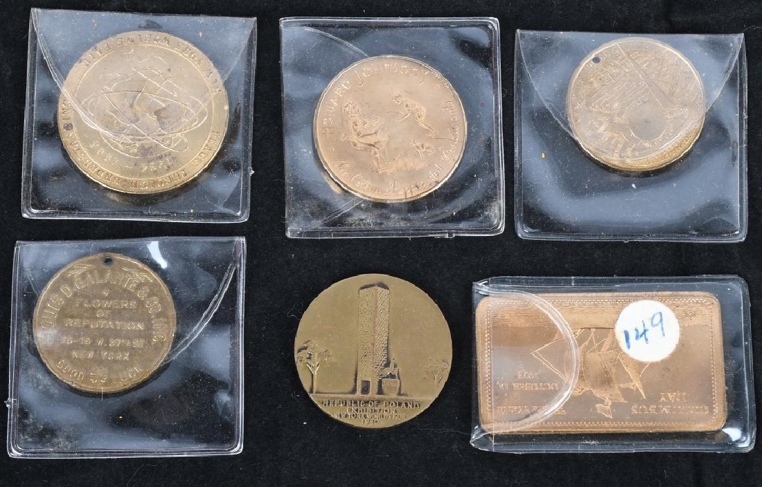 WORLD'S FAIR SOUVENIR COINS and MORE - 2