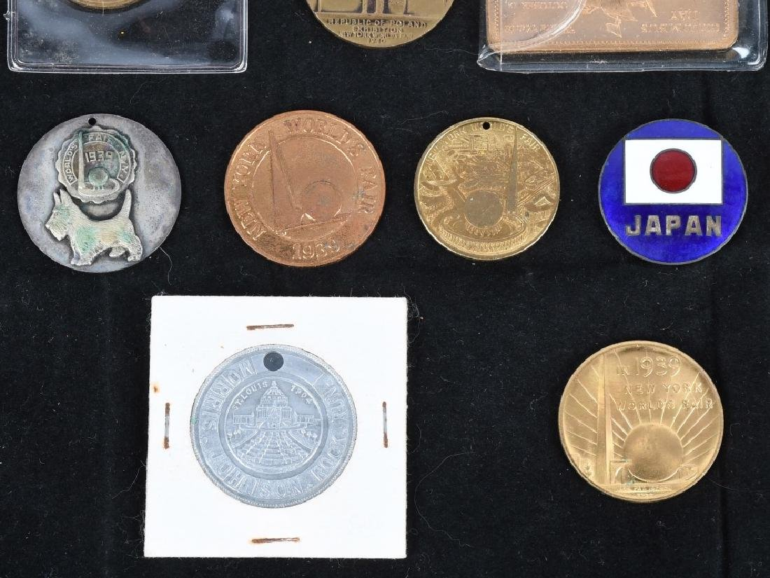 WORLD'S FAIR SOUVENIR COINS and MORE - 3