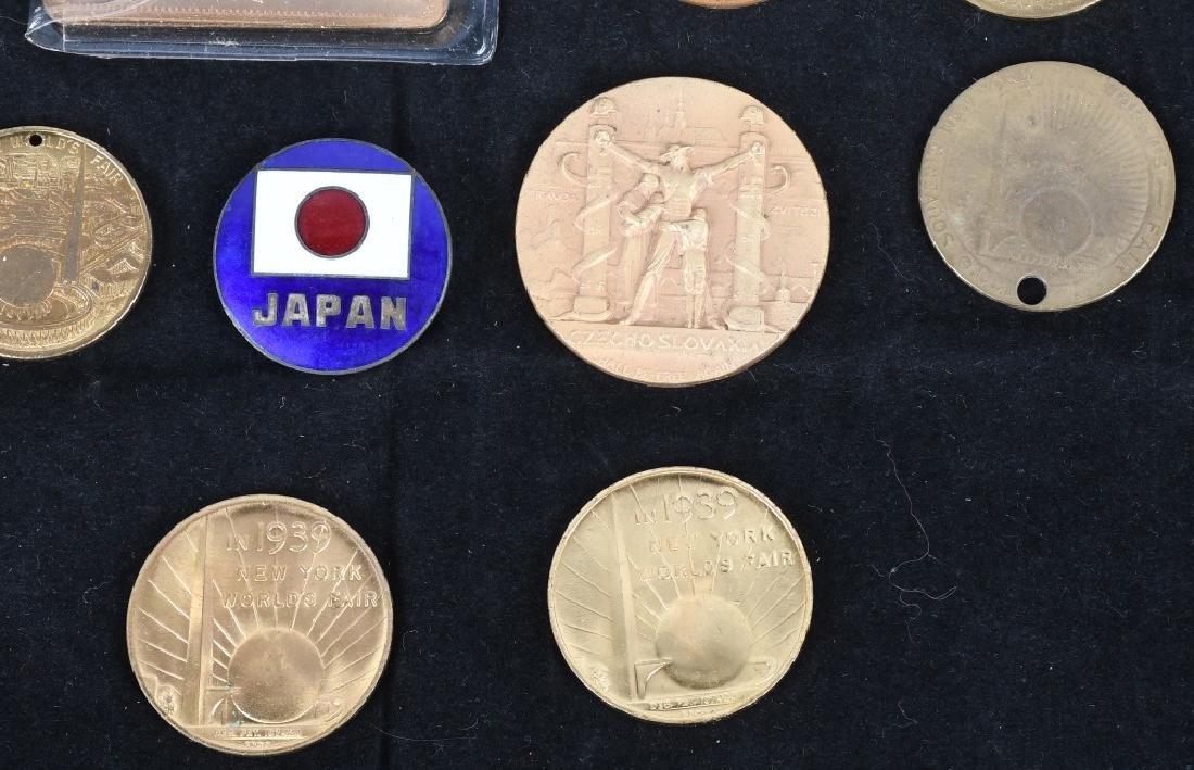 WORLD'S FAIR SOUVENIR COINS and MORE - 4