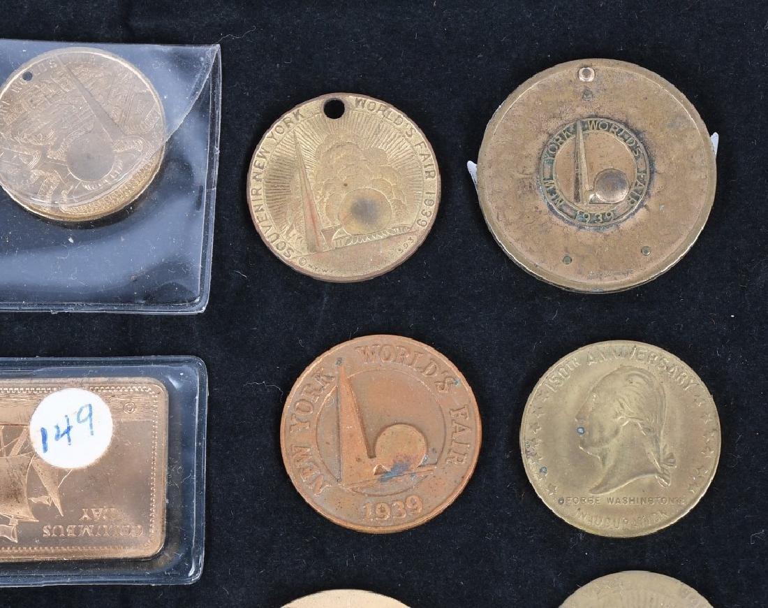WORLD'S FAIR SOUVENIR COINS and MORE - 5