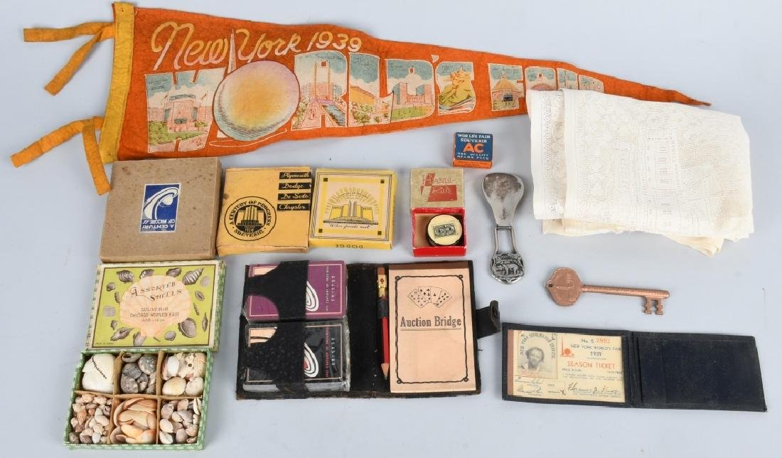 WORLD'S FAIR SOUVENIRS and MORE