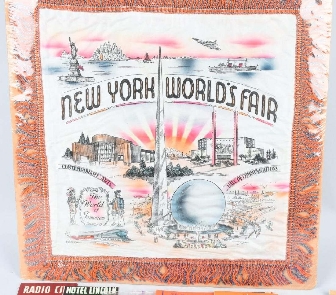 1939 NEW YORK WORLD'S FAIR EPHEMERA & MORE - 2