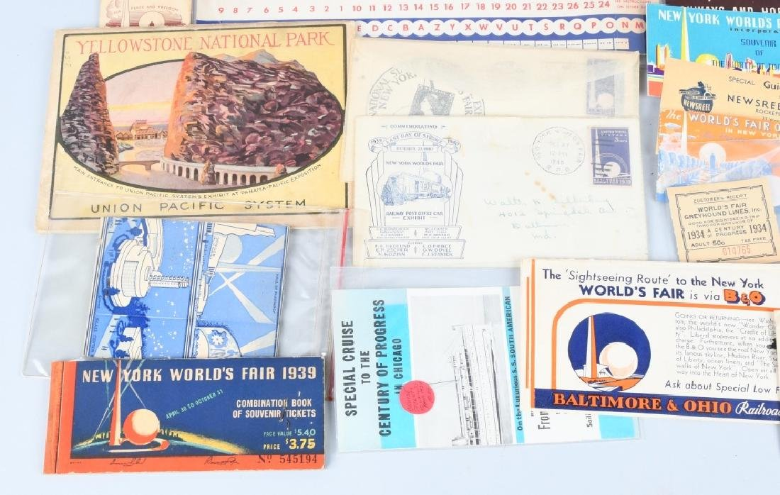 1939 NEW YORK WORLD'S FAIR EPHEMERA & MORE - 7