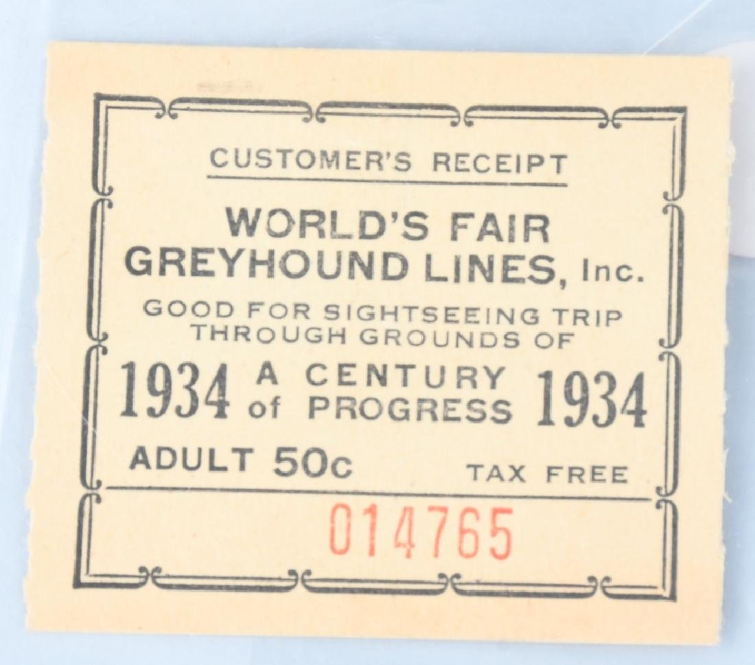 1939 NEW YORK WORLD'S FAIR EPHEMERA & MORE - 8