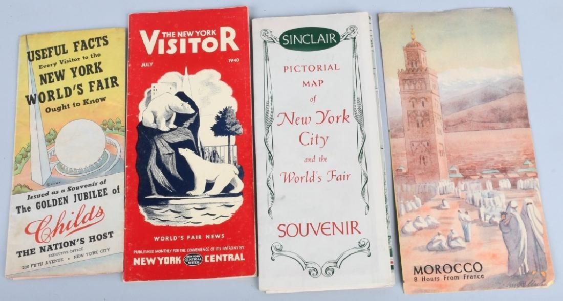 1939 NEW YORK WORLD'S FAIR EPHEMERA LOT - 5