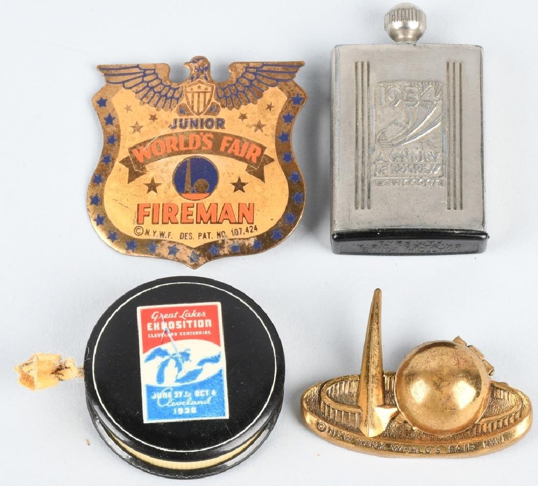 WORLD'S FAIR SOUVENIR LOT - 3