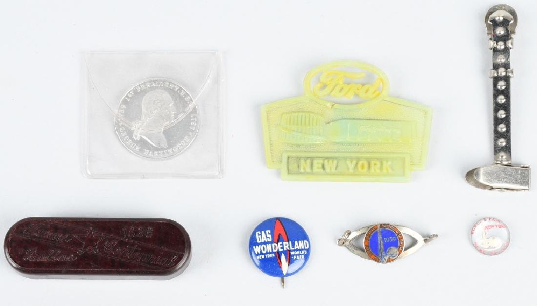 WORLD'S FAIR SOUVENIR LOT - 5