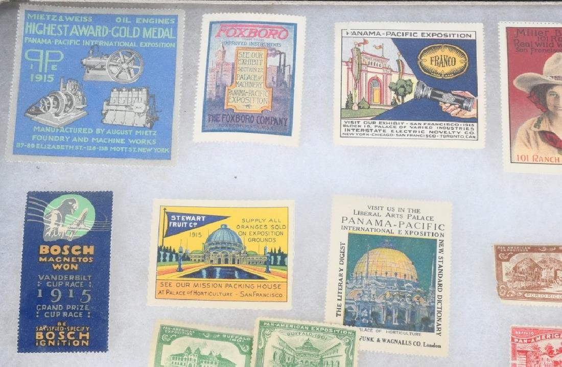 LARGE LOT of 1901 PAN-AM STAMPS and MORE - 2