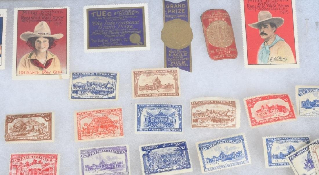 LARGE LOT of 1901 PAN-AM STAMPS and MORE - 3