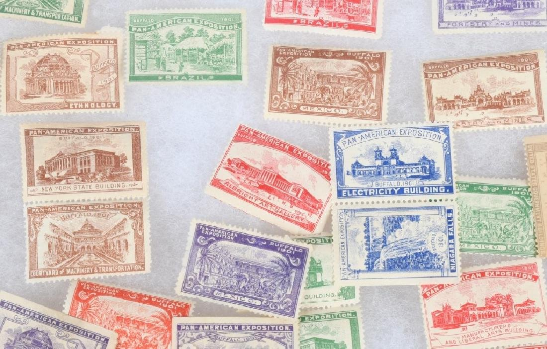 LARGE LOT of 1901 PAN-AM STAMPS and MORE - 5