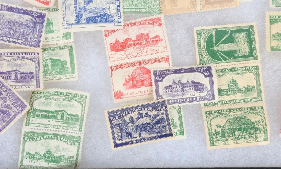 LARGE LOT of 1901 PAN-AM STAMPS and MORE - 7