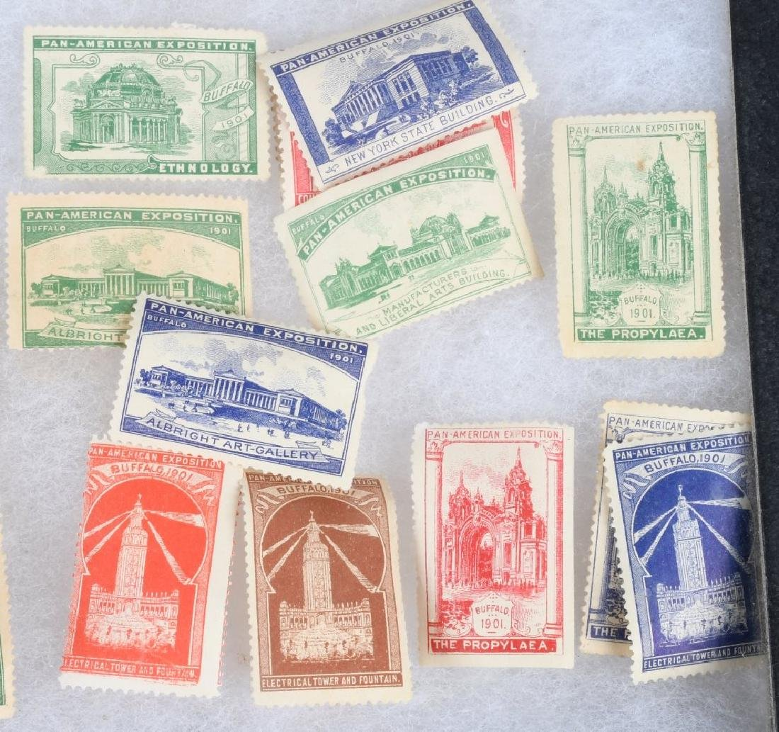 LARGE LOT of 1901 PAN-AM STAMPS and MORE - 8