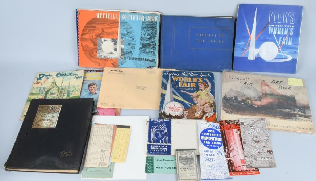 LARGE LOT of WORLD'S FAIR & EXPO EPHEMERA