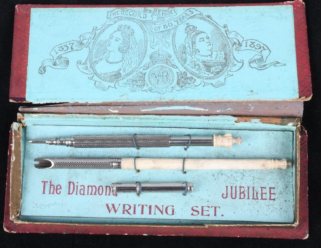 1897 QUEEN VICTORIA DIAMOND JUBILEE WRITING SET