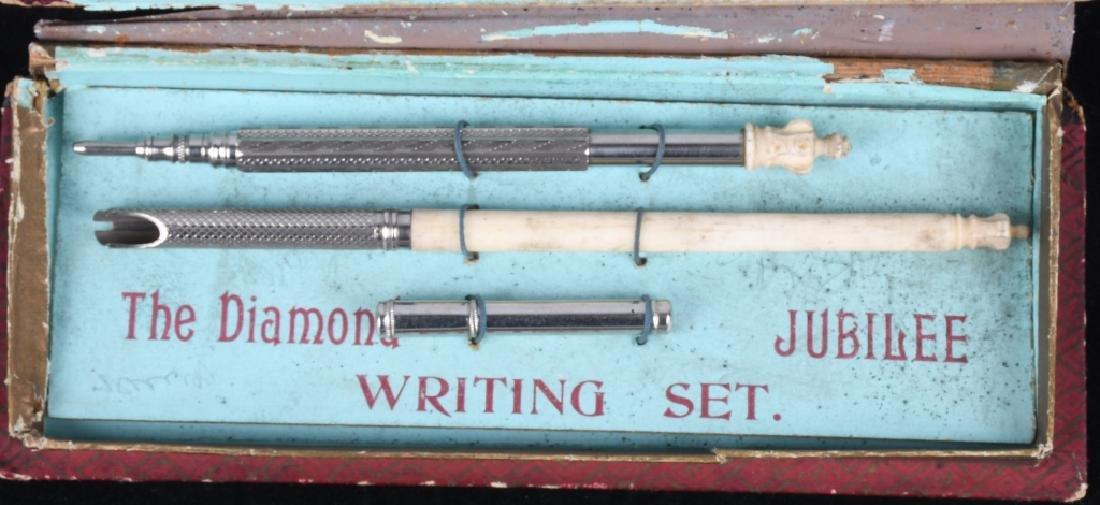 1897 QUEEN VICTORIA DIAMOND JUBILEE WRITING SET - 3