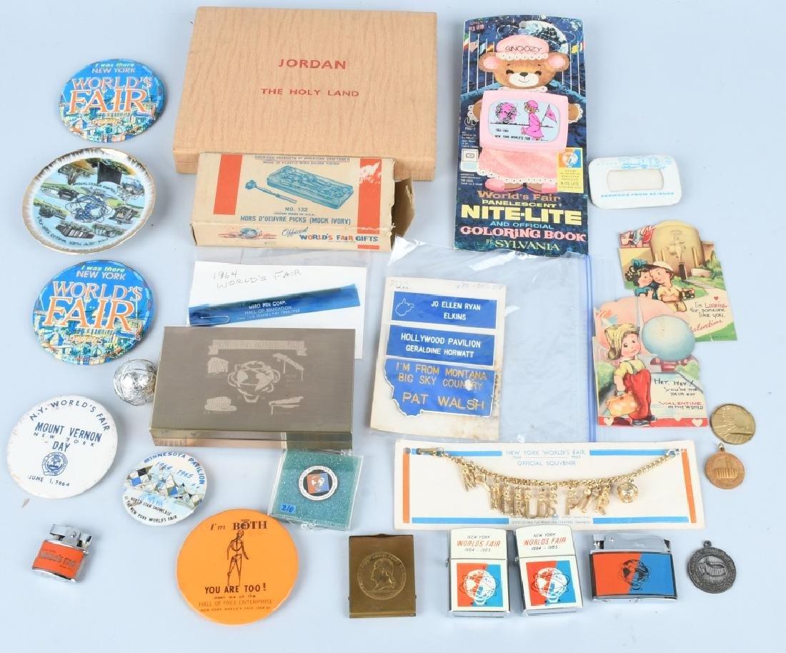1964-65 NEW YORK WORLD'S FAIR SOUVENIRS