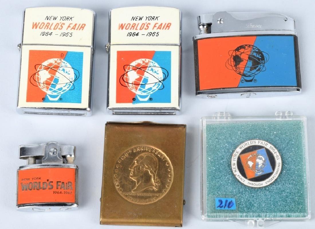1964-65 NEW YORK WORLD'S FAIR SOUVENIRS - 3