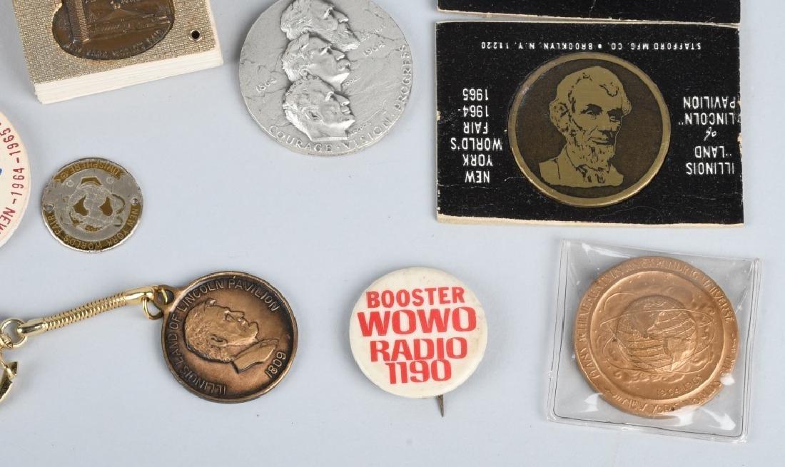 1964-65 NEW YORK WORLD'S FAIR SOUVENIRS & MORE - 5