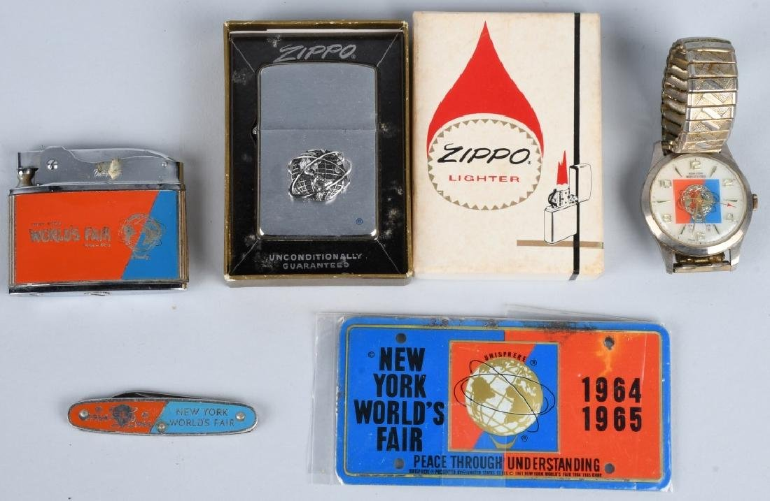 1964-65 NEW YORK WORLD'S FAIR SOUVENIRS