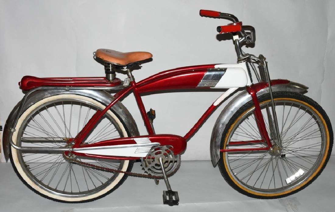 1958 MURRY DELUXE FLEETLINE SPRINGER BICYCLE