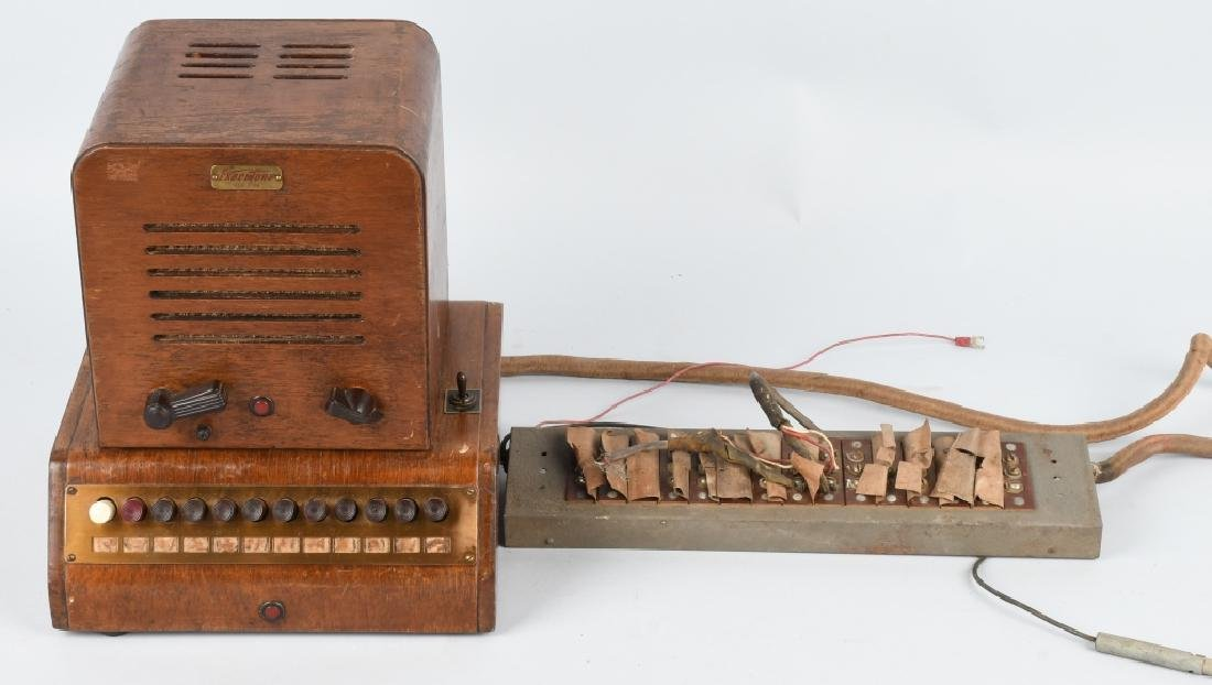 1940s EXECUTONE WOOD OFFICE INTERCOM