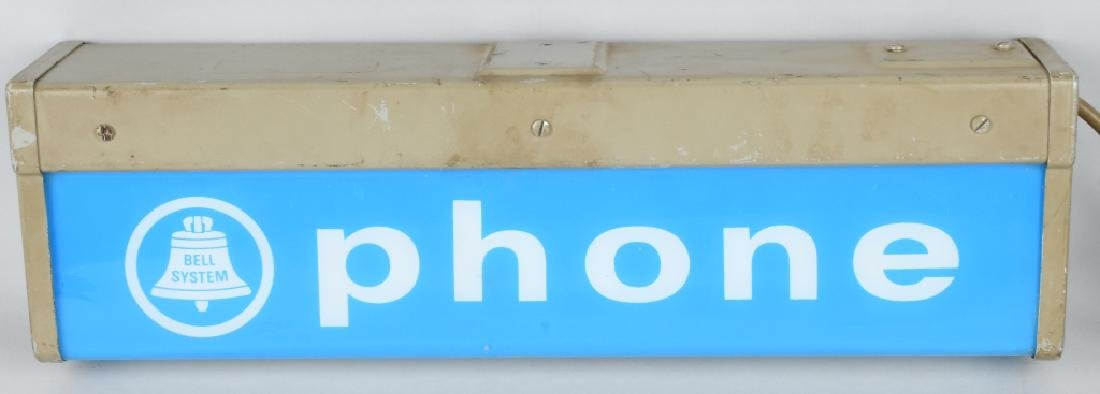 PAY TELEPHONE LIGHT-UP SIGN