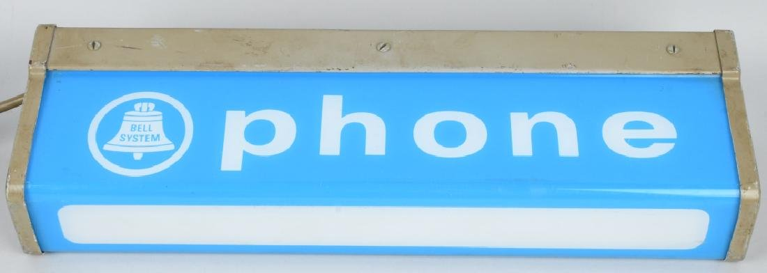 PAY TELEPHONE LIGHT-UP SIGN - 2