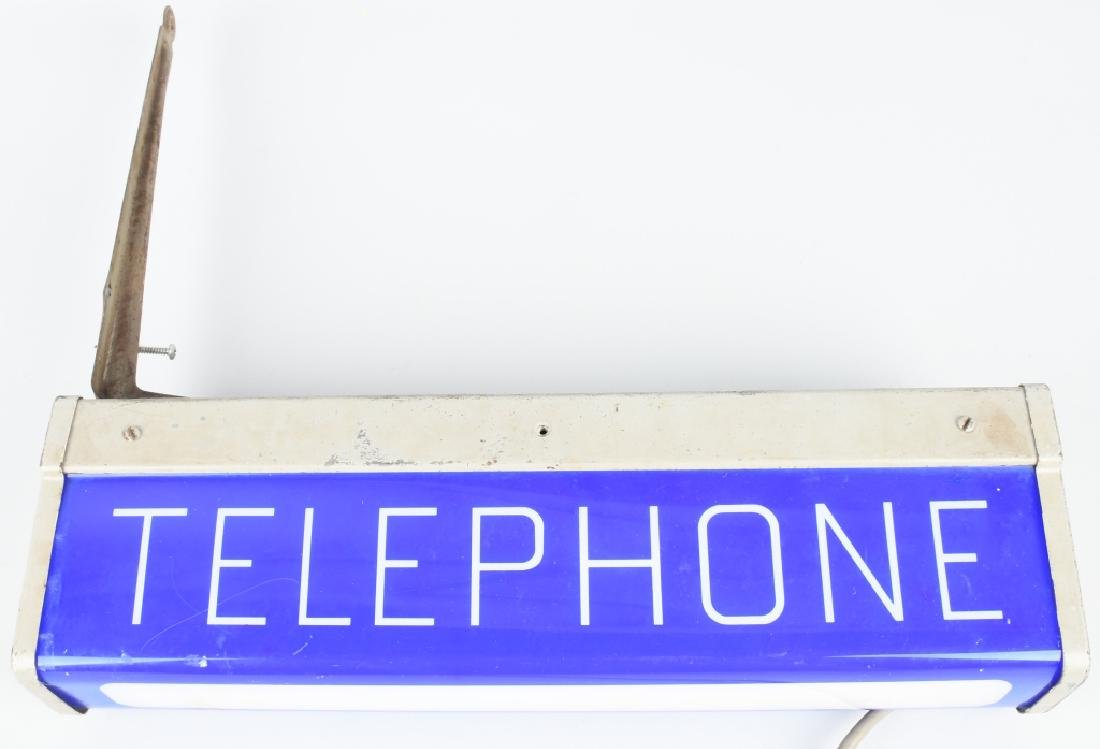 PAY TELEPHONE LIGHTUP SIGN - 2