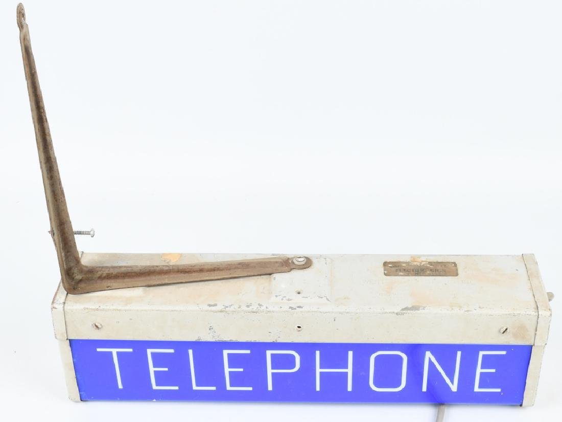 PAY TELEPHONE LIGHTUP SIGN - 3