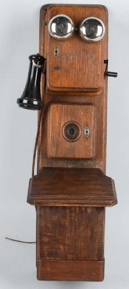 1890s AMERICAN BELL 3 BOX TELEPHONE