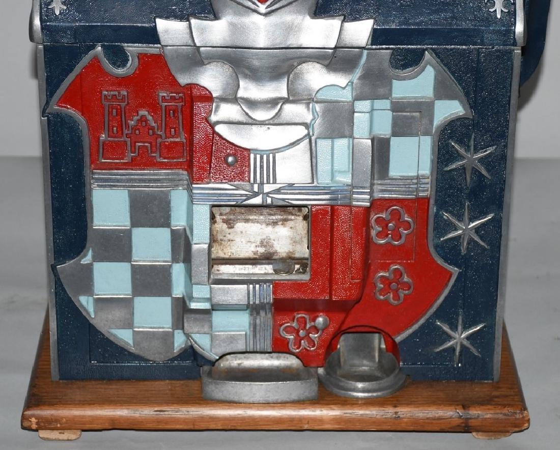MILLS 10c CASTLE FRONT SLOT MACHINE - 3