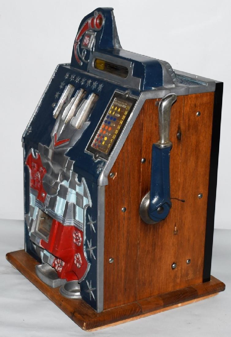 MILLS 10c CASTLE FRONT SLOT MACHINE - 4
