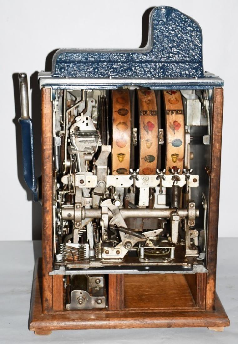 MILLS 10c CASTLE FRONT SLOT MACHINE - 6
