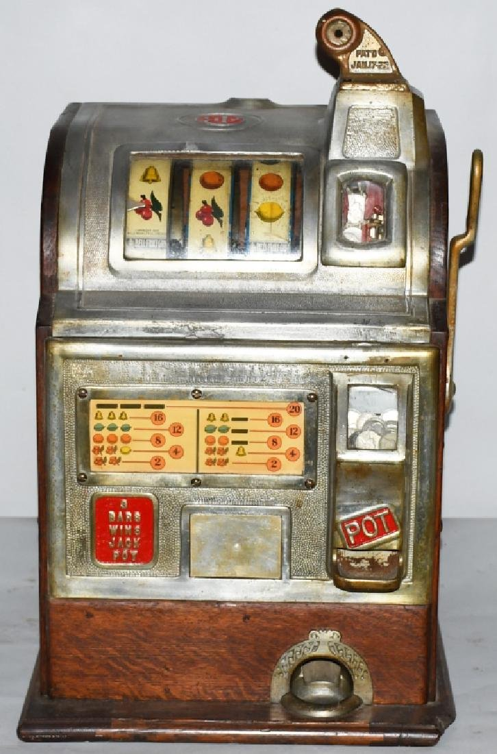1920s JENNINGS 5c SLOT MACHINE