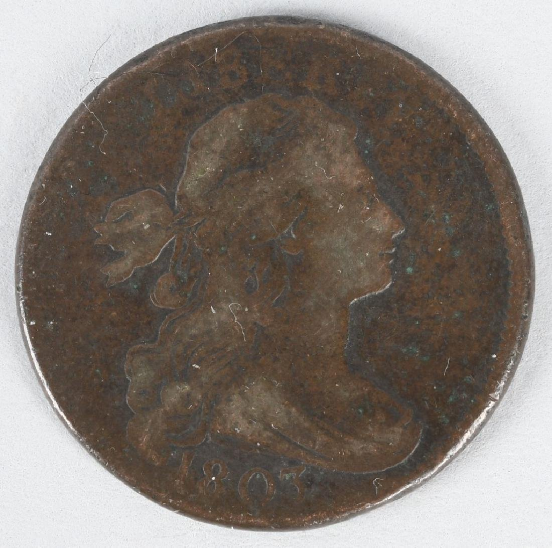 1803 DRAPPED BUST LARGE CENT