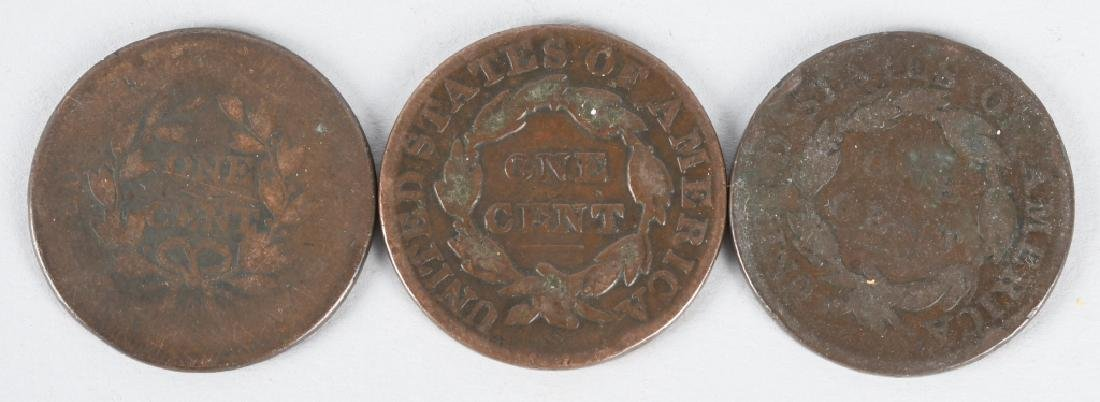3- LARGE CENTS 1807-1831-1819 - 2