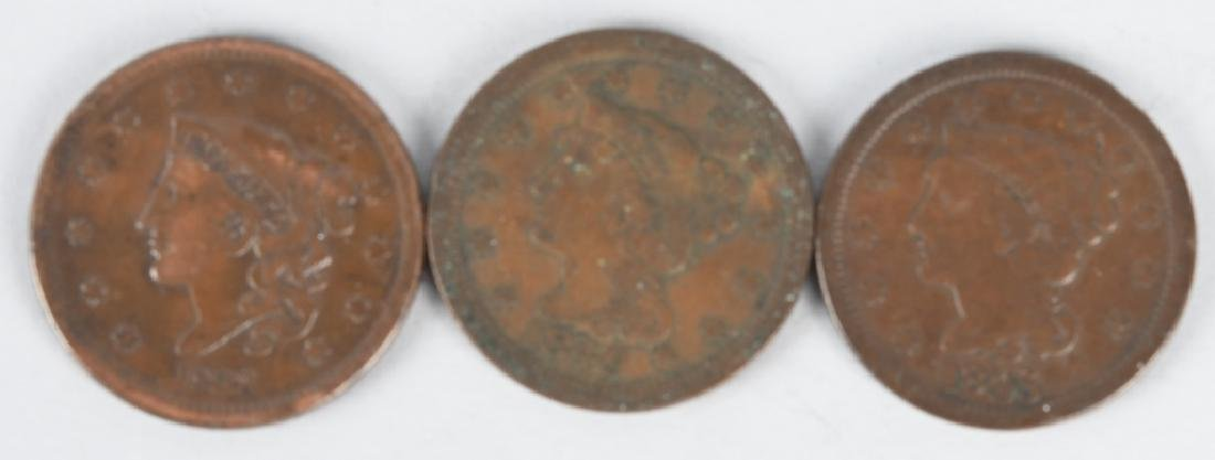 3- LARGE CENTS 1807-1831-1819